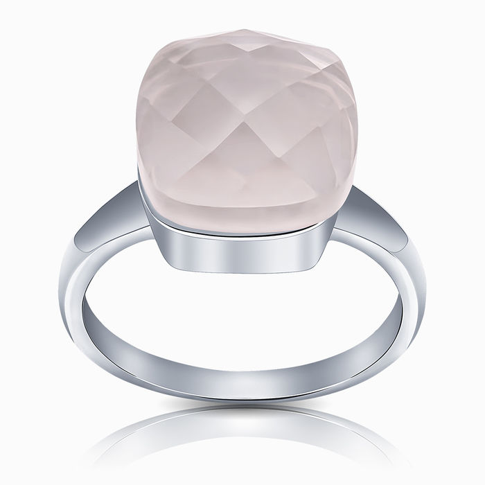 Серебряное кольцо Кварц арт. 15464 15464