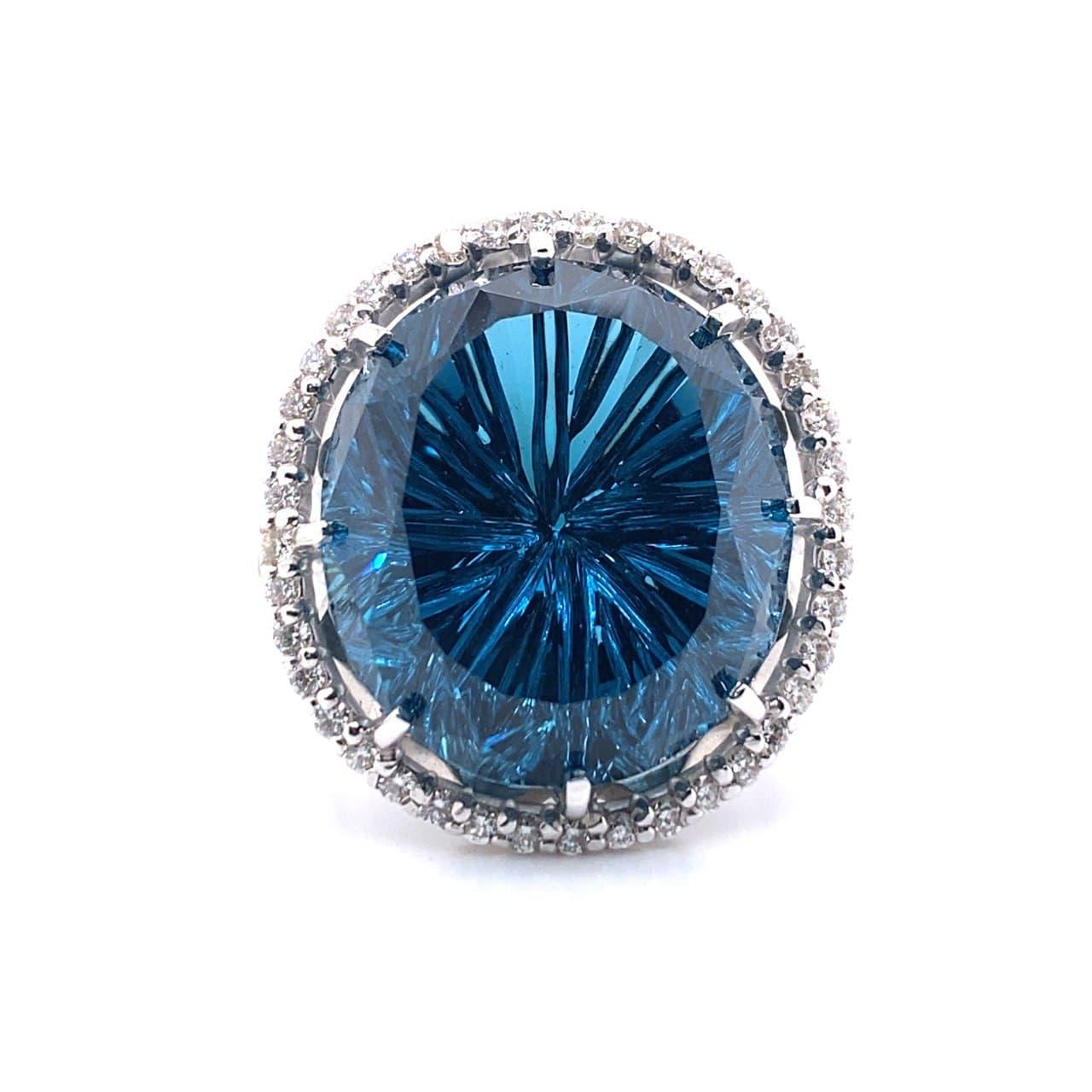 Кольцо из белого золота Бриллиант и Прочие арт. 81621445 81621445