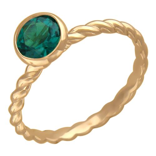 Золотое кольцо Фианит арт. 01к217304 01к217304