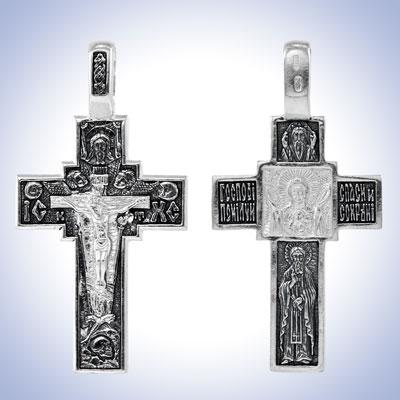 Серебряный крест арт. 09811 09811