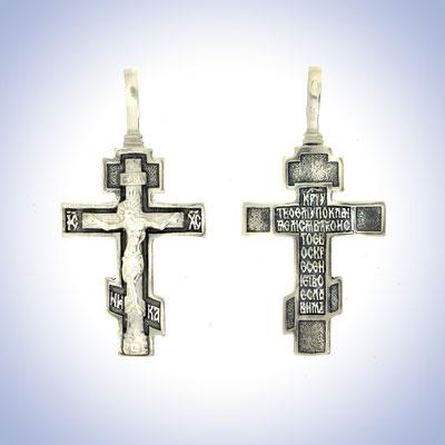 Серебряный крест арт. 06401 06401