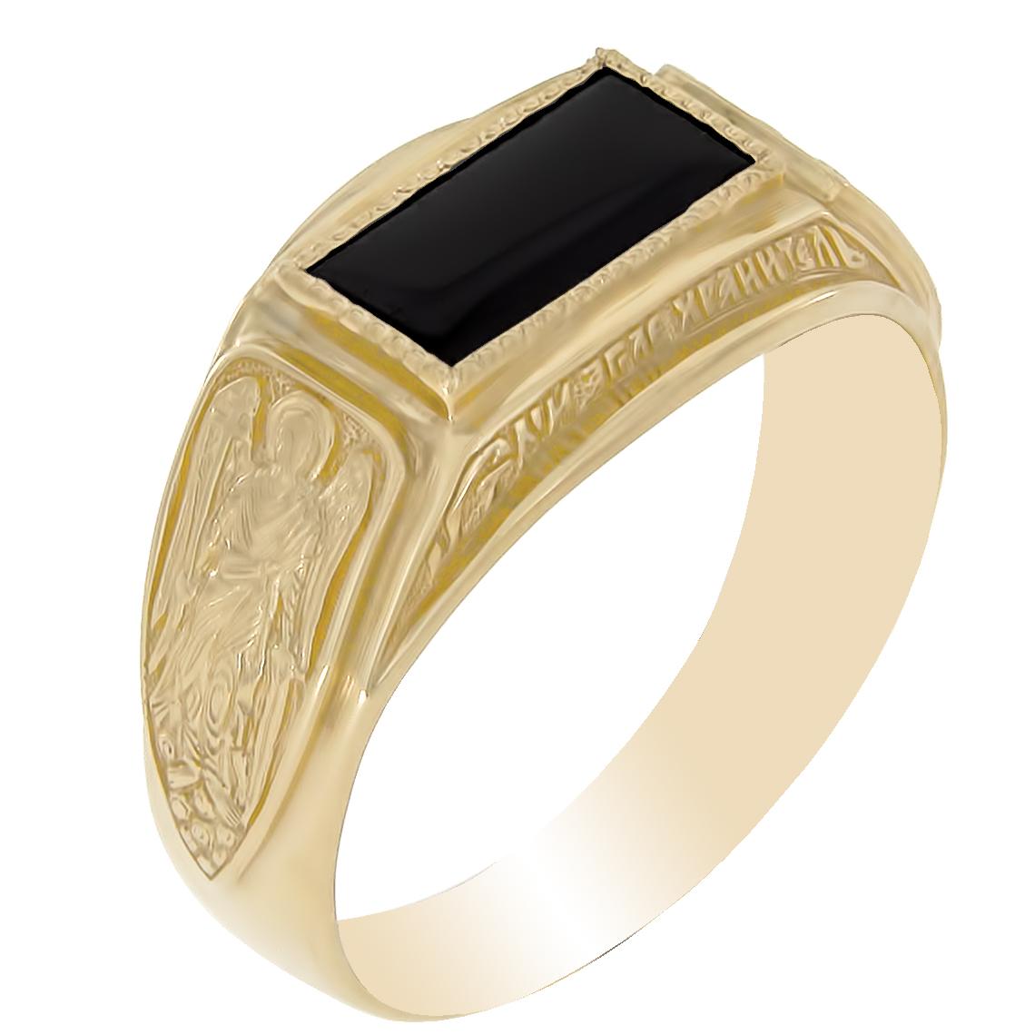Золотая печатка с фианитом Фианит арт. км-144 км-144