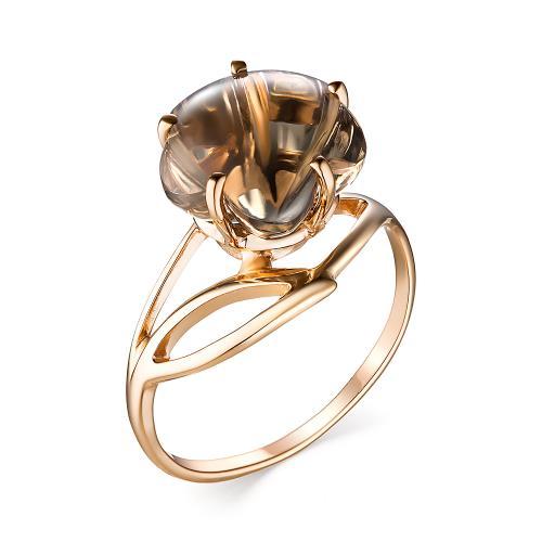 Золотое кольцо Аметист арт. 1180907 1180907