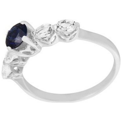 Кольцо из белого золота Сапфир арт. 1-01561 1-01561