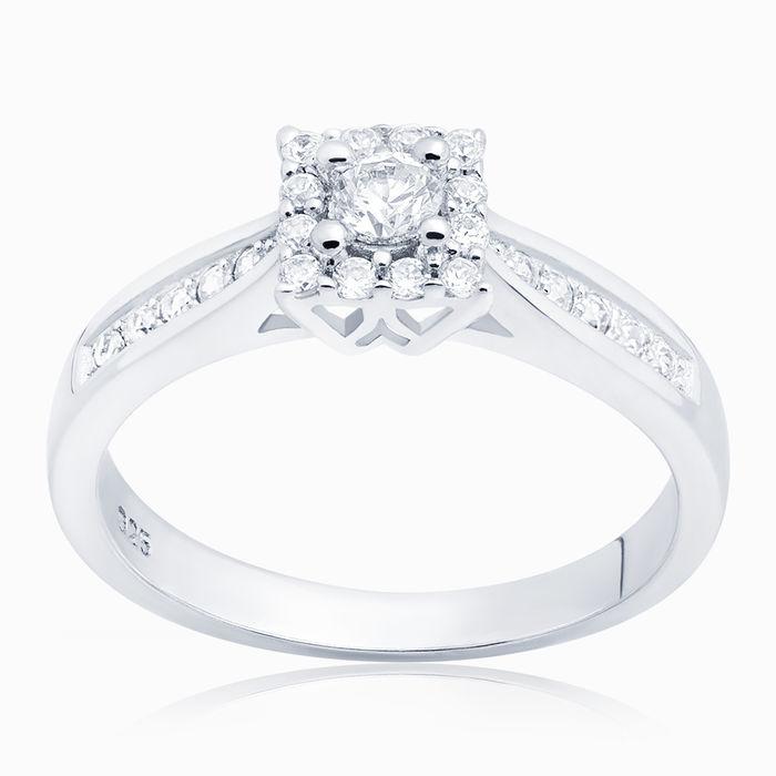 Серебряное кольцо Фианит арт. 04798 04798