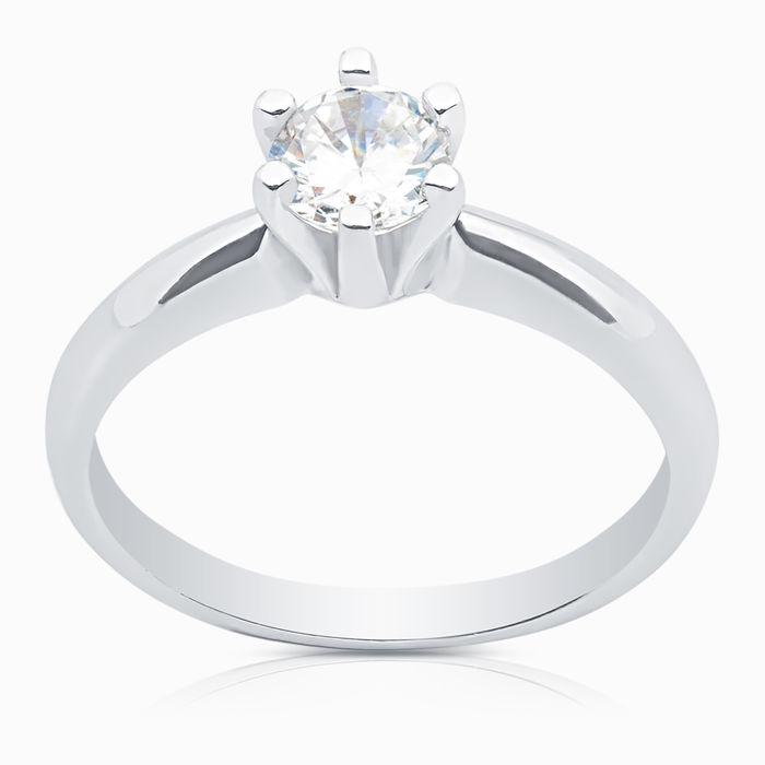 Серебряное кольцо Фианит арт. 04324 04324