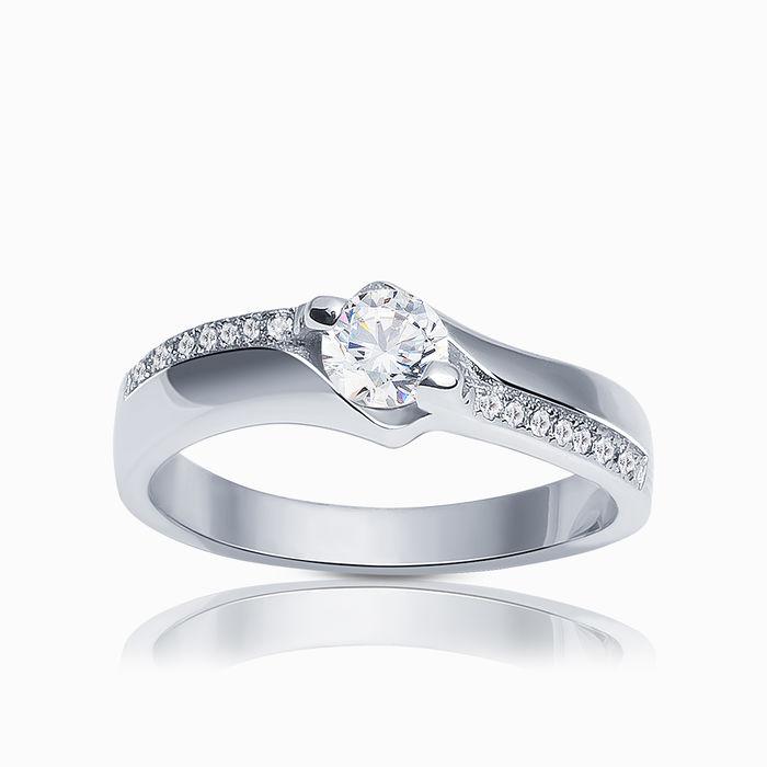 Серебряное кольцо Фианит арт. 02641 02641