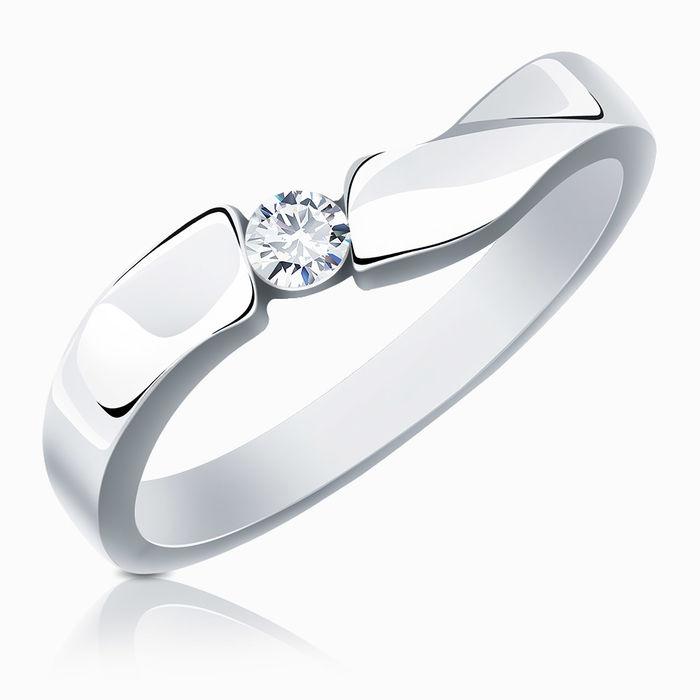 Серебряное кольцо Фианит арт. 02413 02413