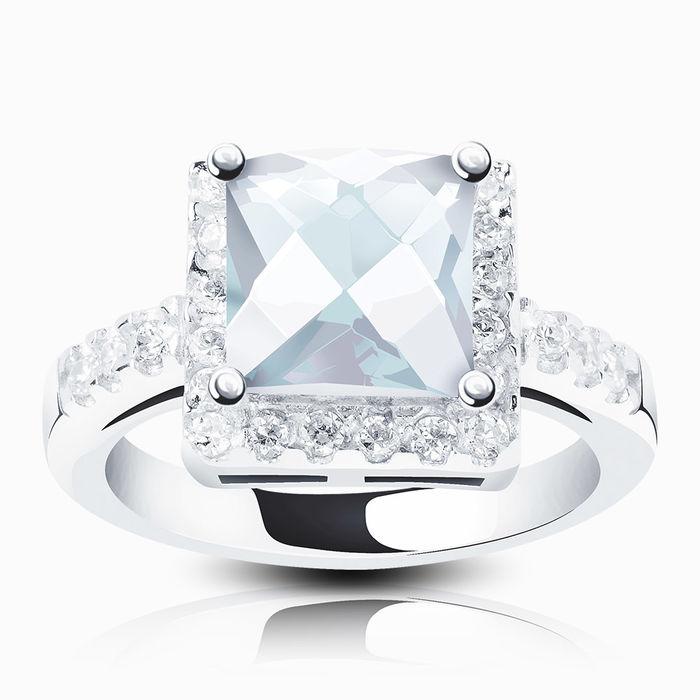 Серебряное кольцо Фианит арт. 02661 02661