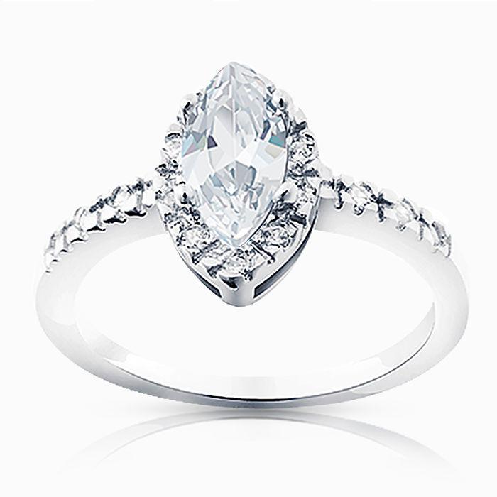 Серебряное кольцо Фианит арт. 02731 02731