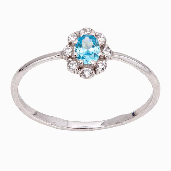 Серебряное кольцо Фианит арт. 21006 21006