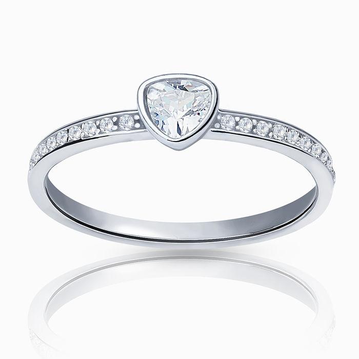 Серебряное кольцо Фианит арт. 24299 24299