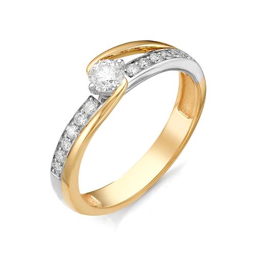 Кольцо из белого золота Бриллиант арт. 1-106-113 1-106-113