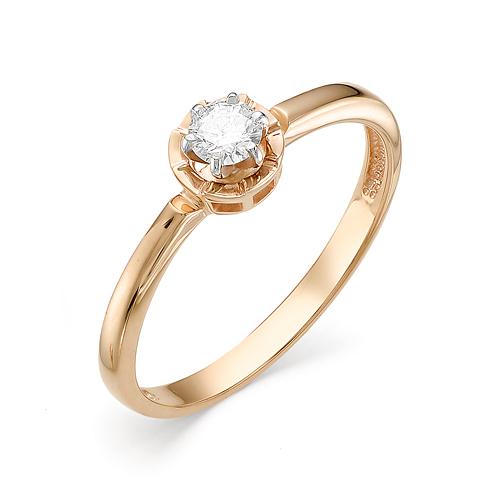 Золотое кольцо Бриллиант арт. 1-106-276 1-106-276