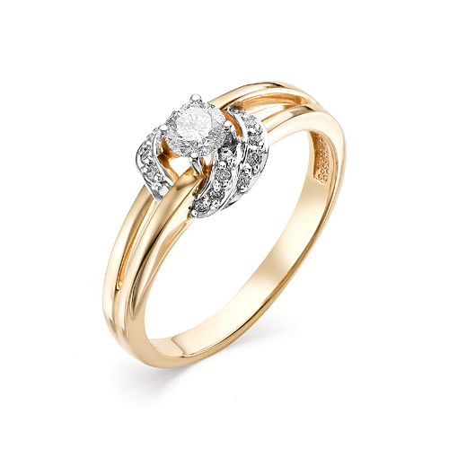 Золотое кольцо Бриллиант арт. 1-106-413 1-106-413