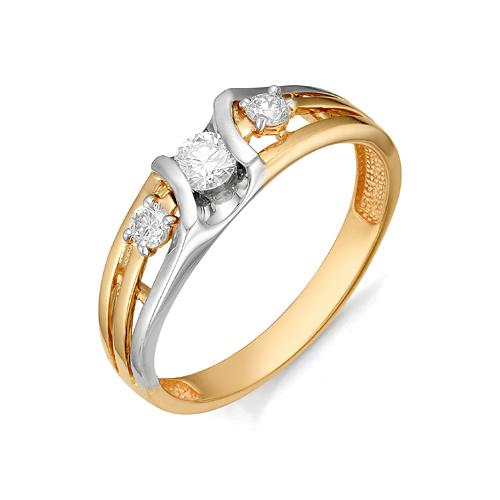 Золотое кольцо Бриллиант арт. 1-106-58 1-106-58
