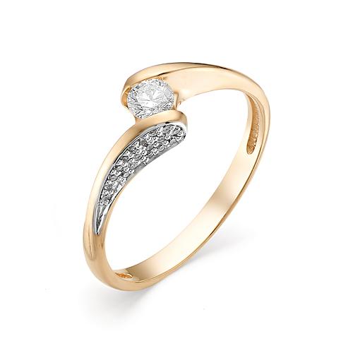 Кольцо из белого золота Бриллиант арт. 1-106-371 1-106-371