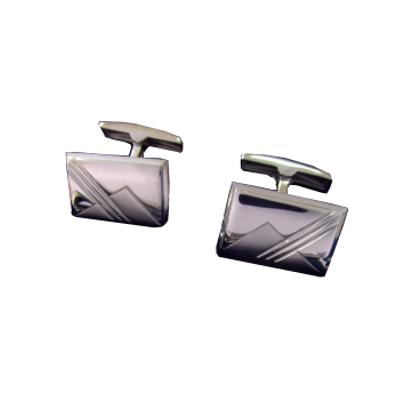 Серебряные запонки арт. 140013 140013