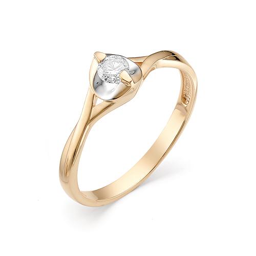 Кольцо из белого золота Бриллиант арт. 1-106-329 1-106-329