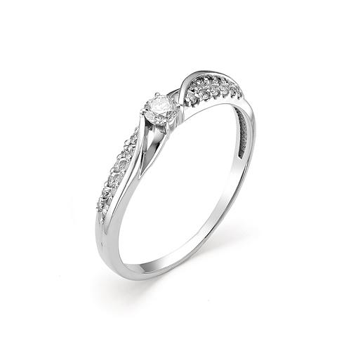 Кольцо из белого золота Бриллиант арт. 1-106-325 1-106-325