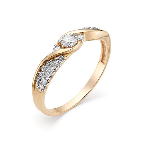 Кольцо из белого золота Бриллиант арт. 1-106-334 1-106-334