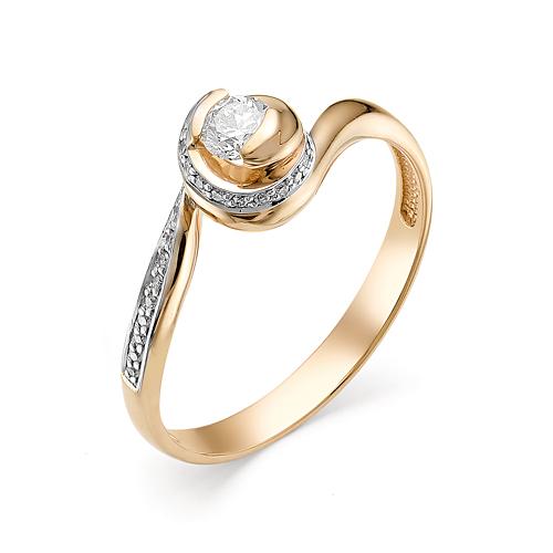 Кольцо из белого золота Бриллиант арт. 1-106-332 1-106-332