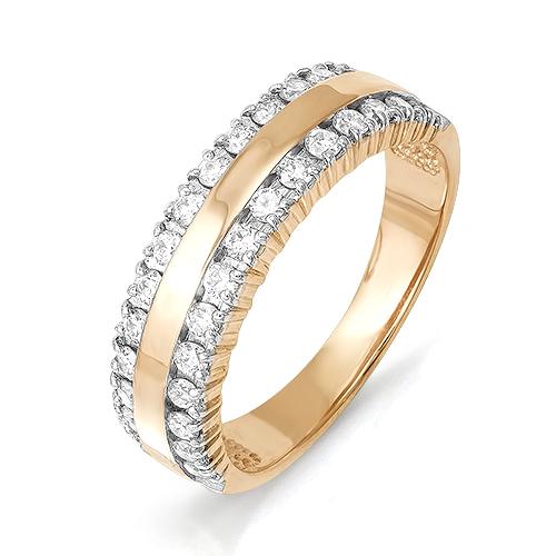Кольцо из белого золота Бриллиант арт. 1-106-335 1-106-335