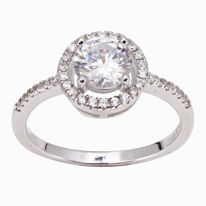 Серебряное кольцо Фианит арт. 08990 08990