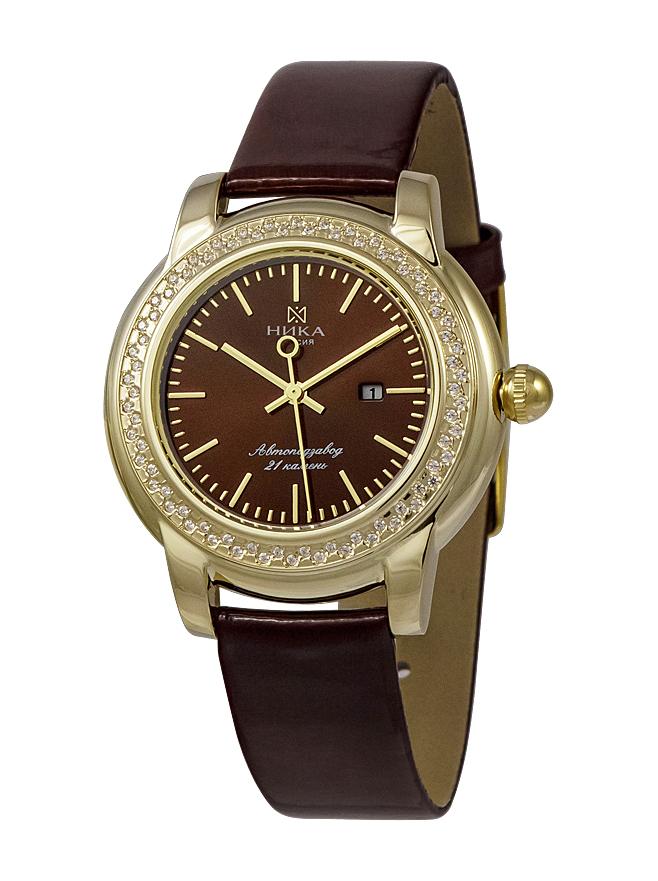 Женские часы из лимонного золота с фианитом арт. 1071.2.3.65а 1071.2.3.65а