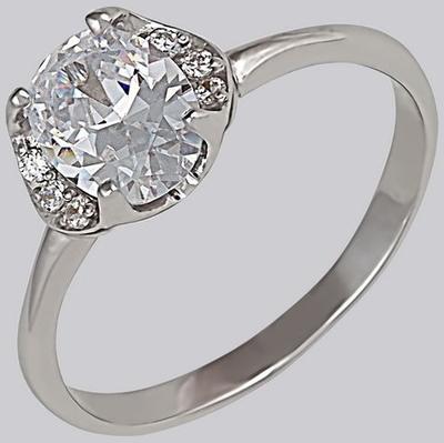 Серебряное кольцо Фианит арт. 14664-р 14664-р