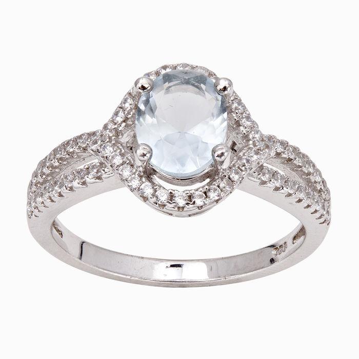 Серебряное кольцо Фианит арт. 06467 06467