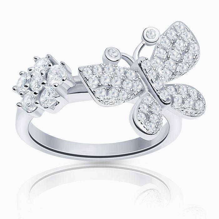 Серебряное кольцо Фианит арт. 08369 08369