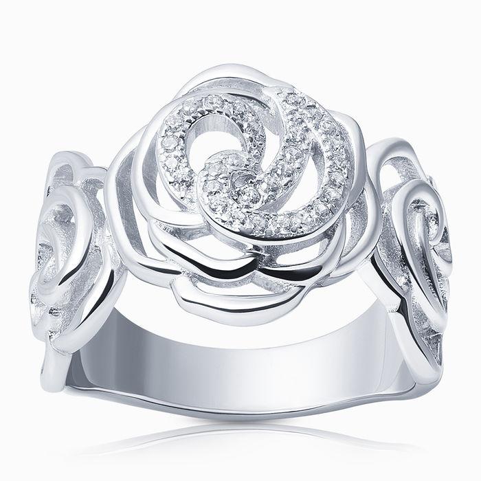 Серебряное кольцо Фианит арт. 17305 17305
