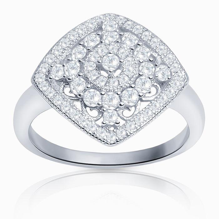 Серебряное кольцо Фианит арт. 18098 18098