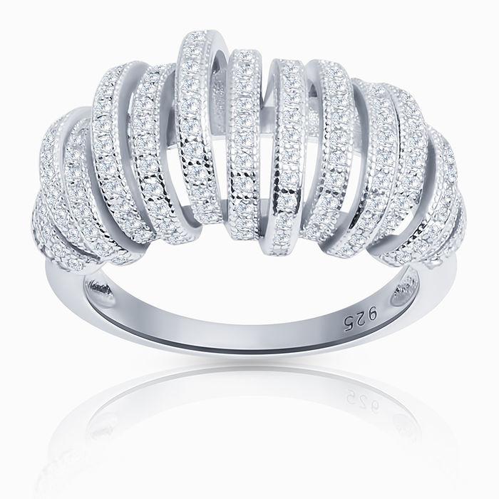 Серебряное кольцо Фианит арт. 26268 26268