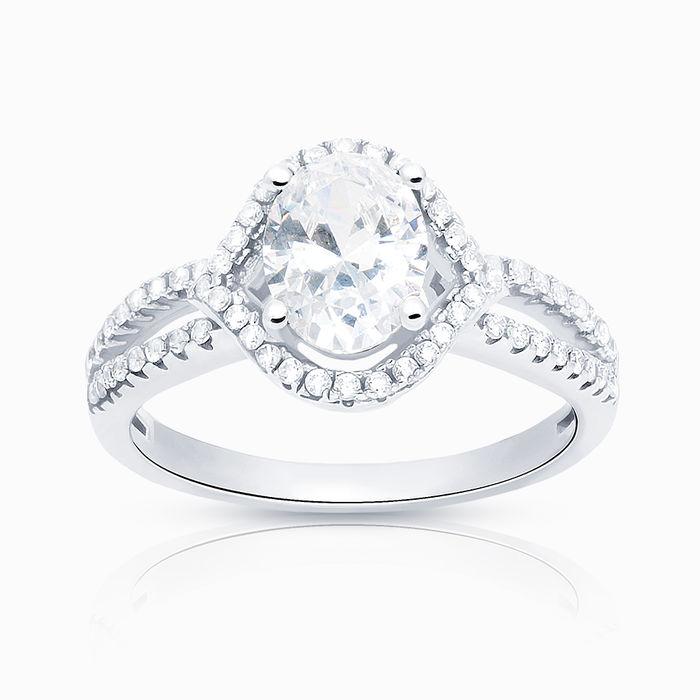 Серебряное кольцо Фианит арт. 06470 06470