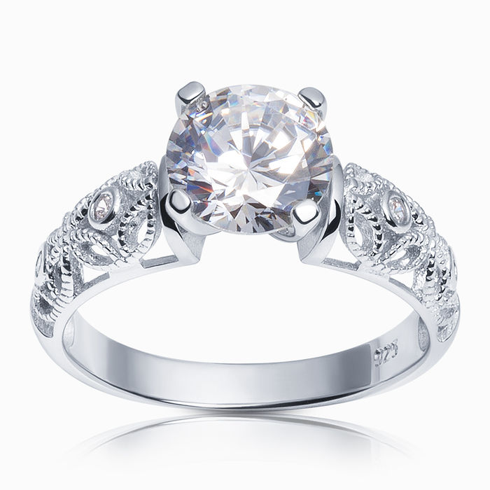Серебряное кольцо Фианит арт. 26344 26344