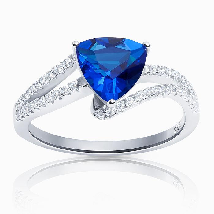 Серебряное кольцо Фианит арт. 06496 06496