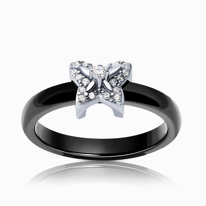Серебряное кольцо Прочие и Фианит арт. 26365 26365