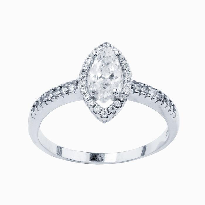 Серебряное кольцо Фианит арт. 26287 26287