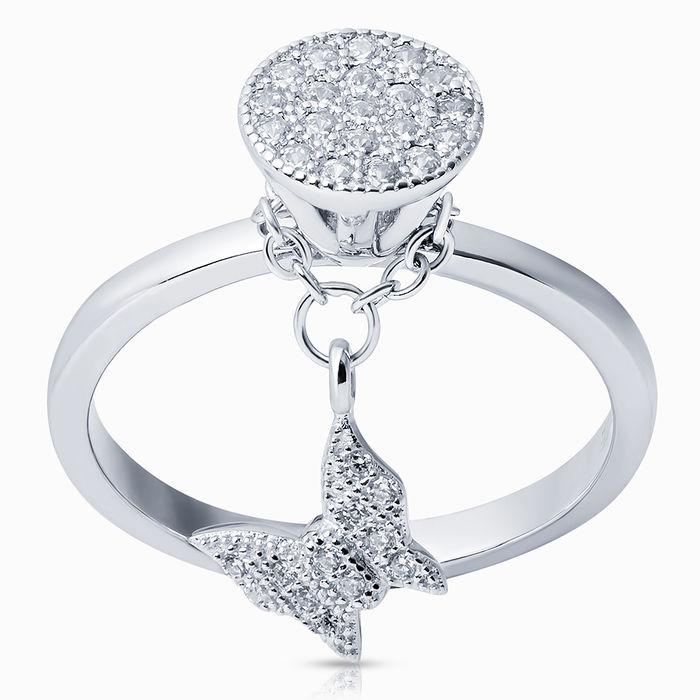 Серебряное кольцо Фианит арт. 26275 26275