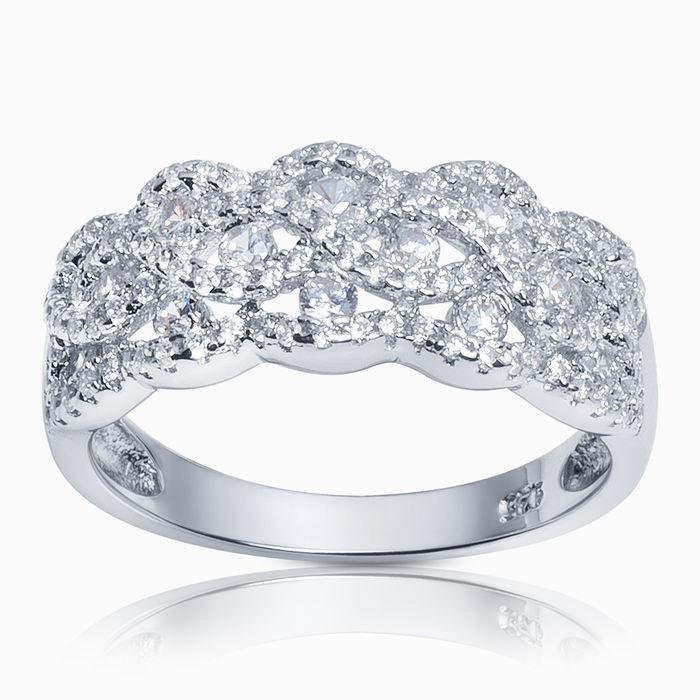 Серебряное кольцо Фианит арт. 23862 23862