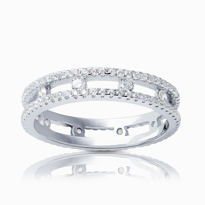 Серебряное кольцо Фианит арт. 17139 17139