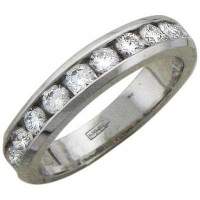 Кольцо из белого золота Бриллиант арт. 01к625738 01к625738