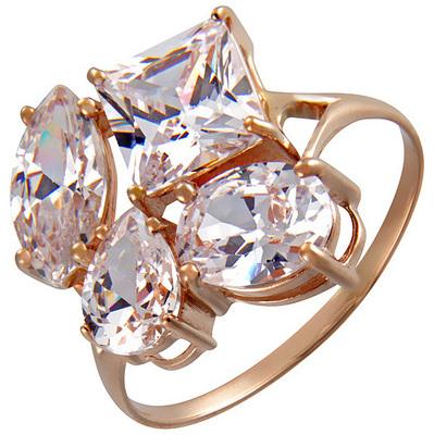 Золотое кольцо Фианит арт. к-6039 к-6039