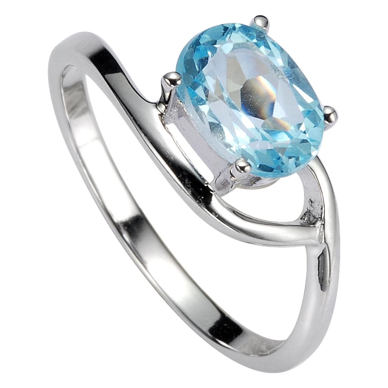 Серебряное кольцо Топаз арт. 41100009 41100009