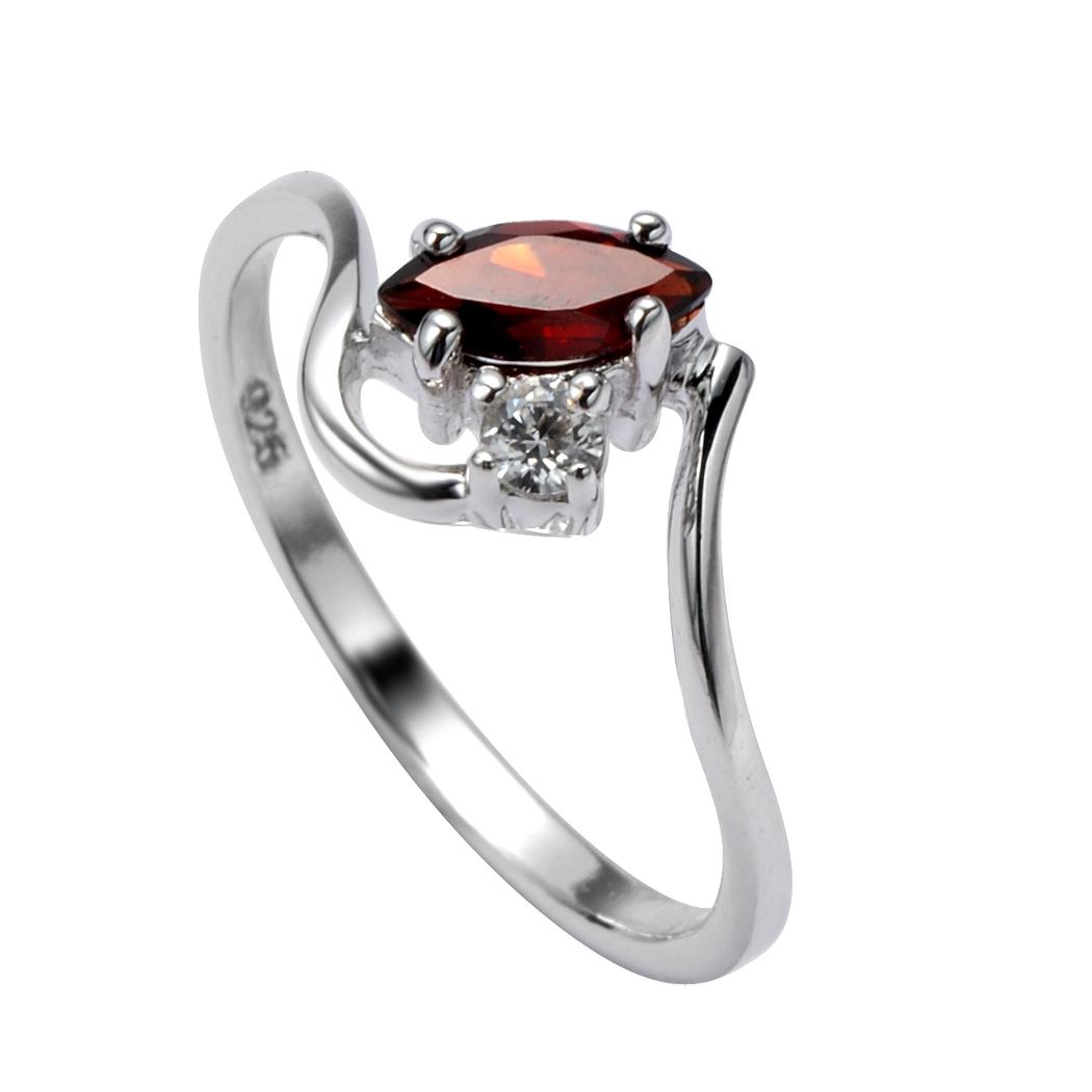 Серебряное кольцо Прочие и Фианит арт. 41100024 41100024