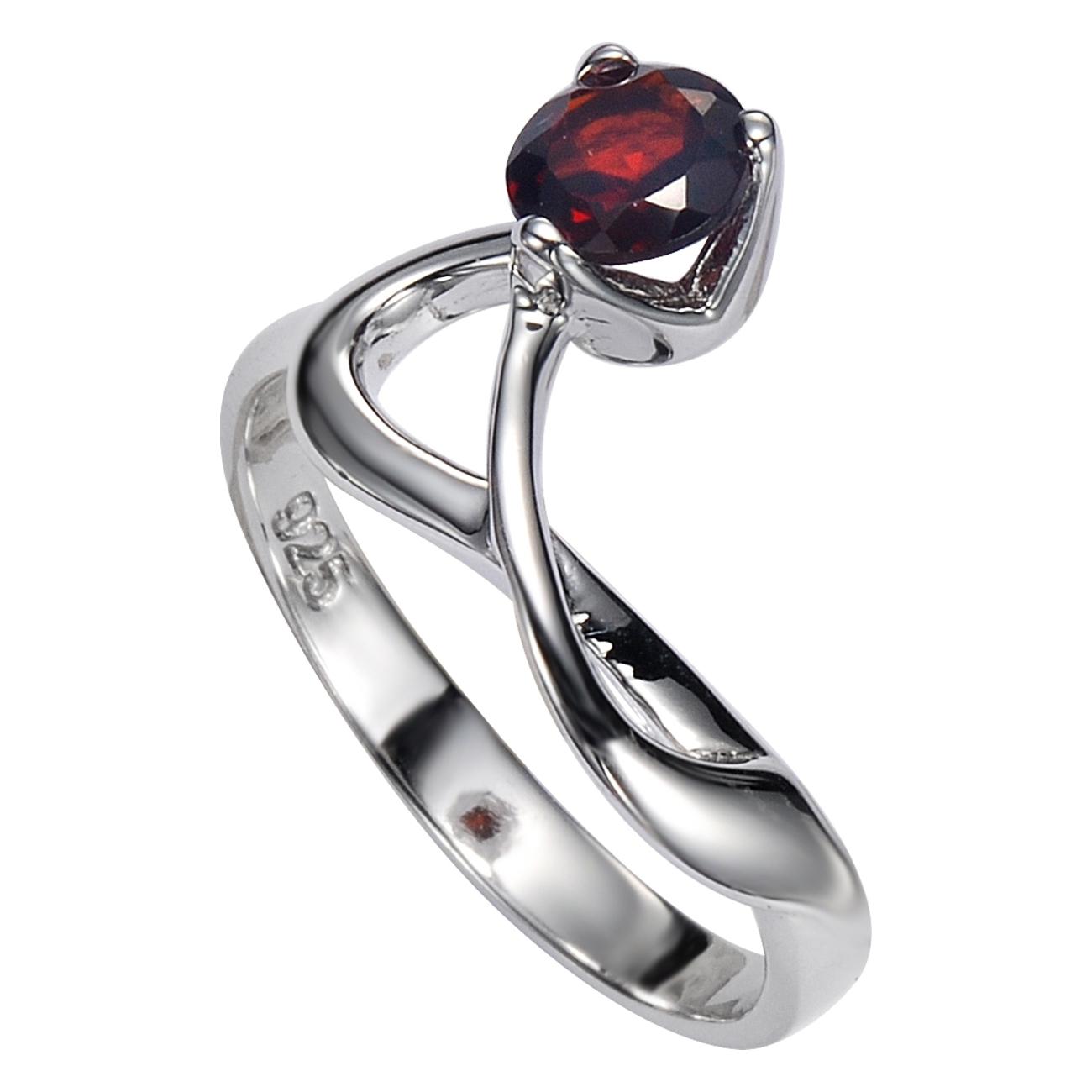 Серебряное кольцо Гранат арт. 41100025 41100025