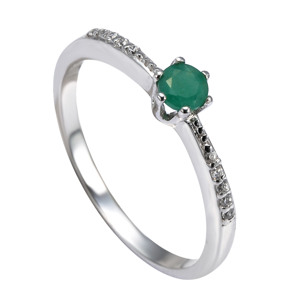 Серебряное кольцо Прочие и Фианит арт. 41100029 41100029