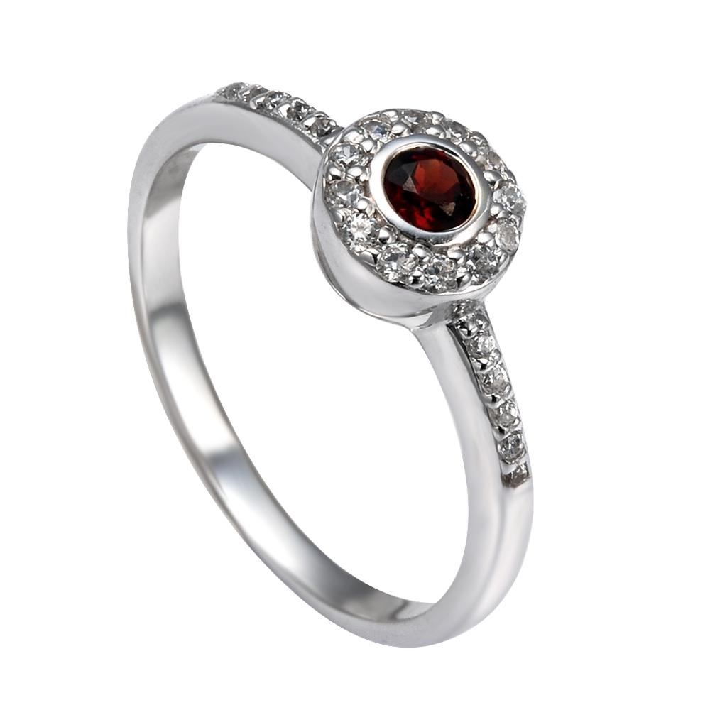 Серебряное кольцо Прочие и Фианит арт. 41100028 41100028